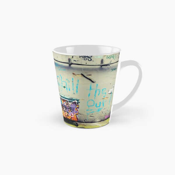 Banksy Chill the Duck Out Tall Mug