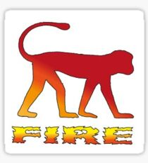 Fire Monkey - Chinese Horoscope Sticker