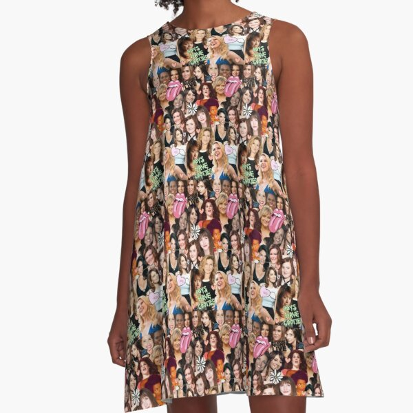 The Women of SNL collage A-Line Dress