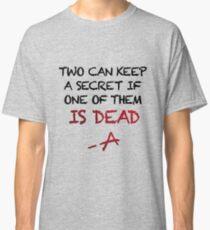 PLL Theme Song (Pretty Little Liars) Classic T-Shirt