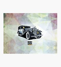 Historic gangster car Photographic Print