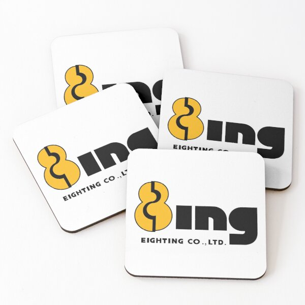 Eighting 8ing (エイティング) Logo Coasters (Set of 4)
