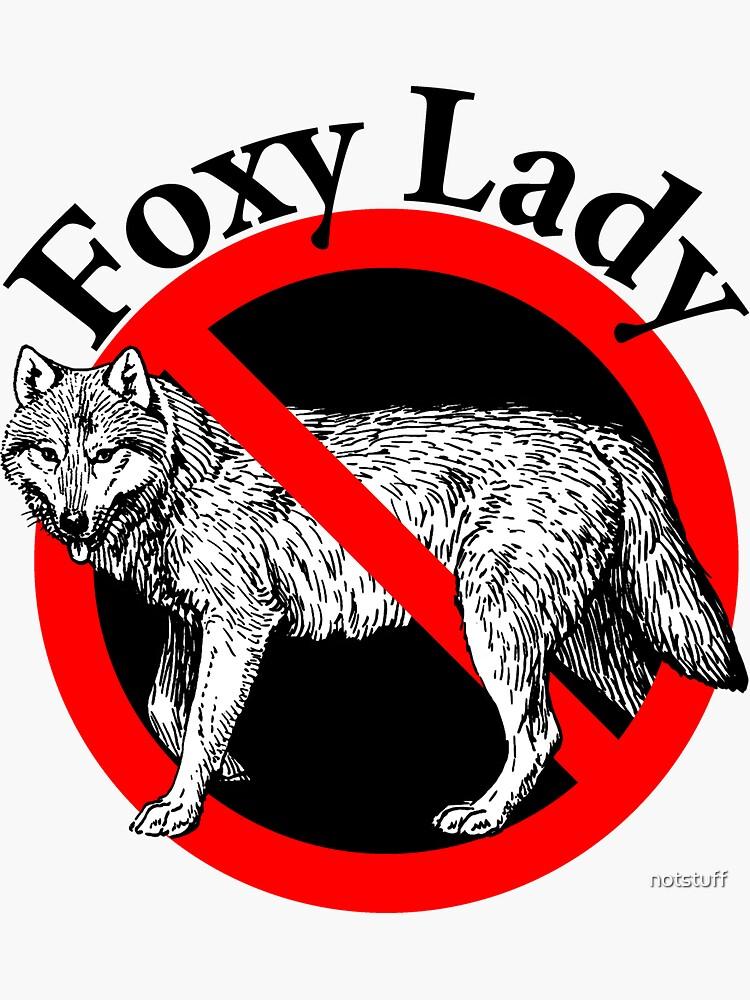 Retro Foxy Lady - Hot Lady!  by notstuff