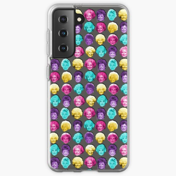 The Golden Girls - Technicolor Pop Print Samsung Galaxy Soft Case