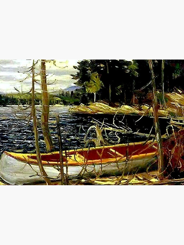 THE CANOE : Vintage 1917 Tom Thomson Algonquin Park Art Print by posterbobs