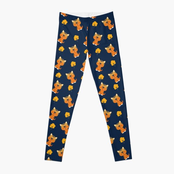 Cute Tiger pattern design ideas | cool and funny art Leggings