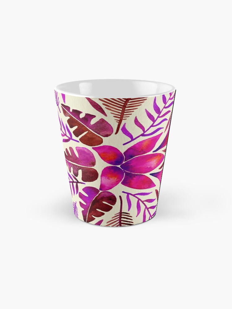 Alternate view of Tropical Symmetry – Magenta Mug
