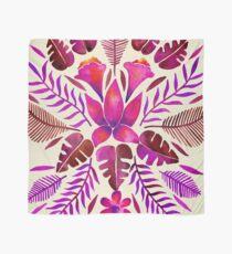 Tropische Symmetrie - Magenta Tuch