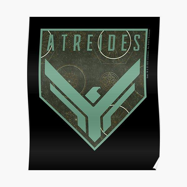 Dune - House Atreides Badge (Light Pattern) - Poster