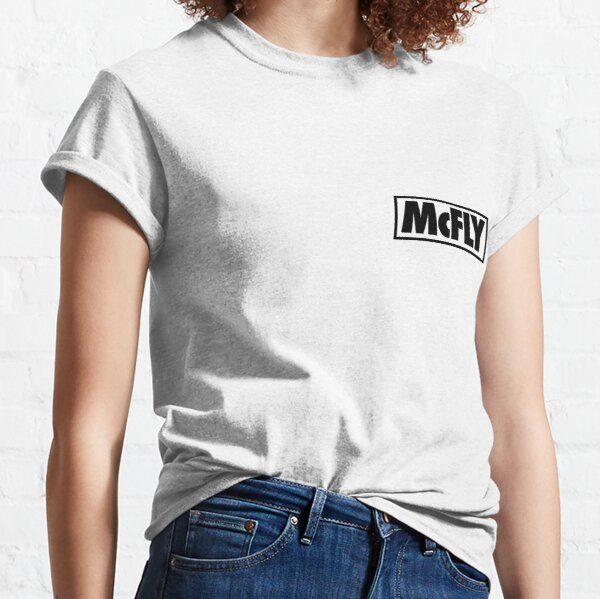 mcfly new logo 2020 in black young dumb thrills Classic T-Shirt