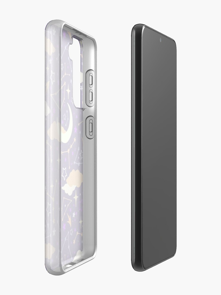 Alternate view of Constellation Stars and Moons in Halloween Colours Case & Skin for Samsung Galaxy