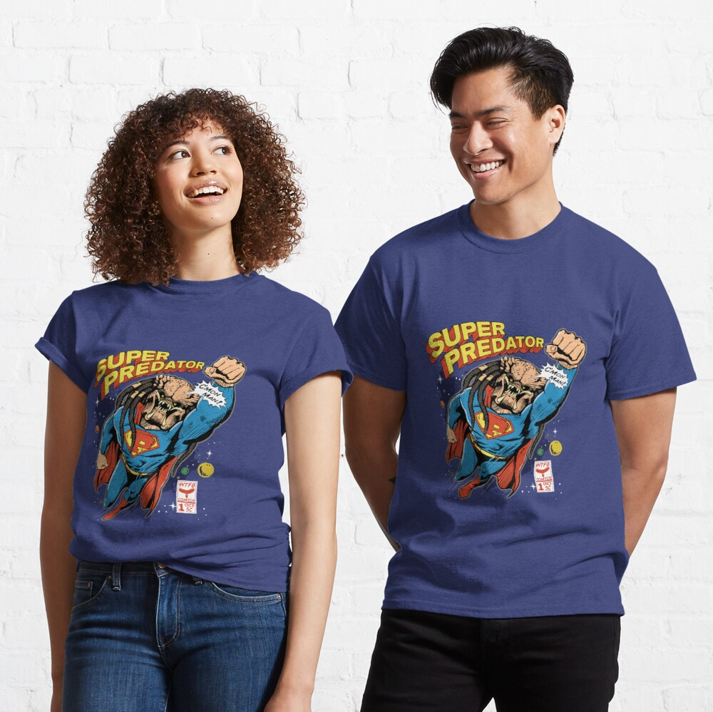 A New Comic Hero Is Born WTFBrahh Classic T-Shirt