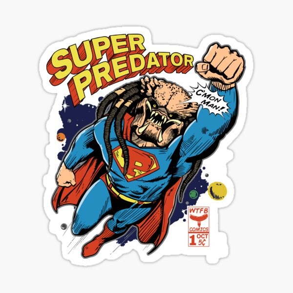 A New Comic Hero Is Born WTFBrahh Sticker