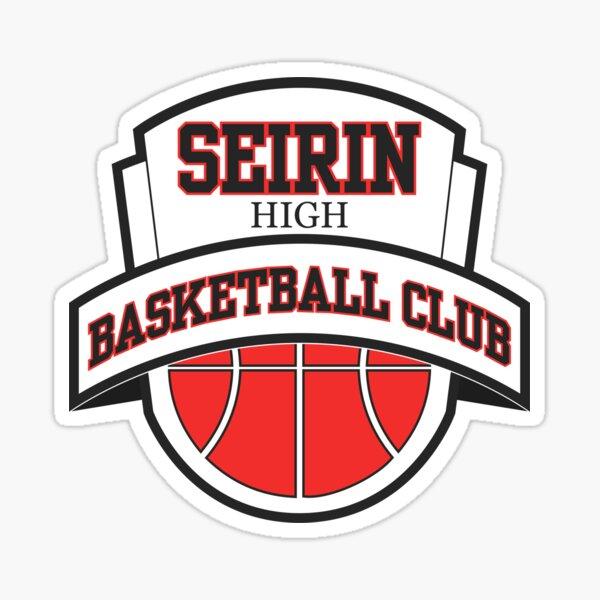 Seirin High - Club de basket-ball Logo 2 Sticker