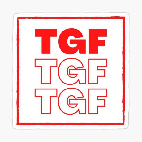 TGF Sticker