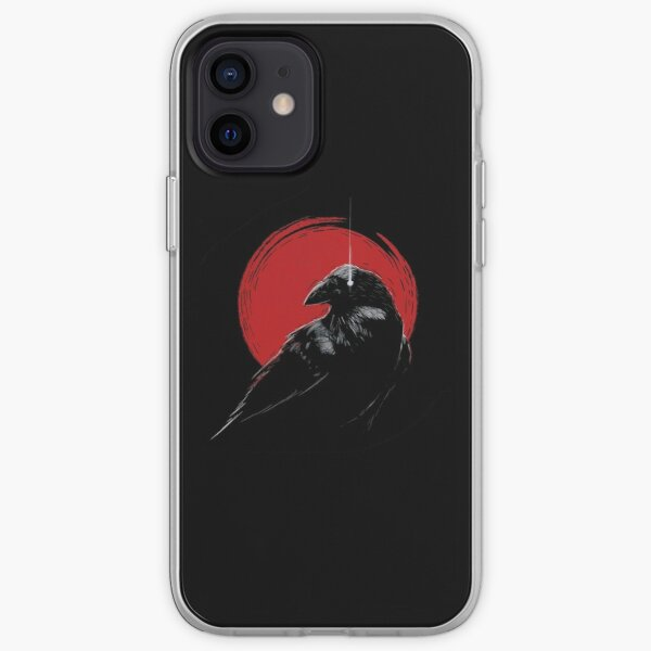 crow  iPhone Soft Case