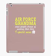 Air Force Grandma iPad Case/Skin