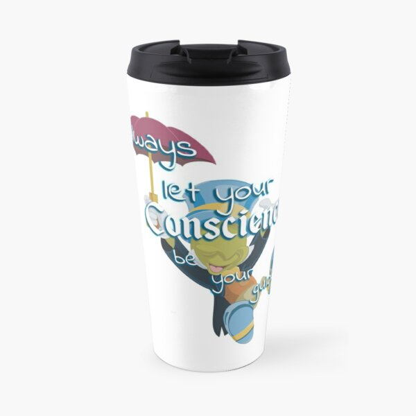 Always Let Your Conscience Be Your Guide Travel Mug