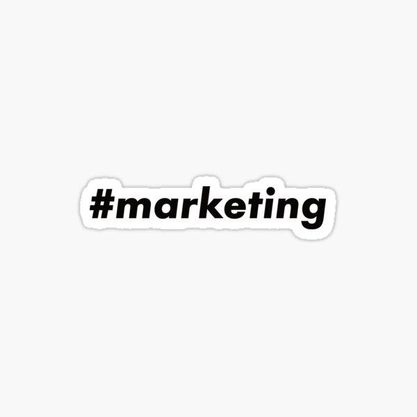 #marketing Sticker