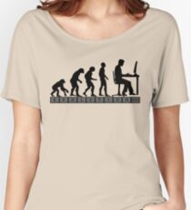 computer evolution Women's Relaxed Fit T-Shirt