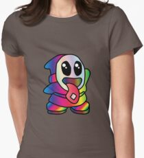 Not So Shy Guy Trippy Women's Fitted T-Shirt
