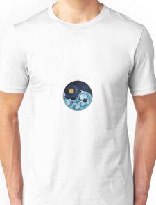 Day And Night Ying Yang Unisex T-Shirt