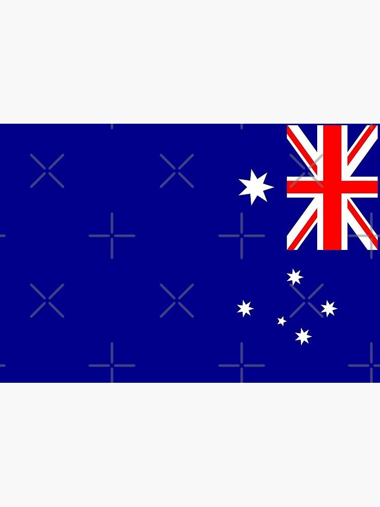 Bandera de Australia de stoopiditees