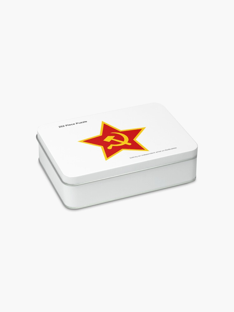 Alternate view of Soviet Red Army Hammer and Sickle Jigsaw Puzzle