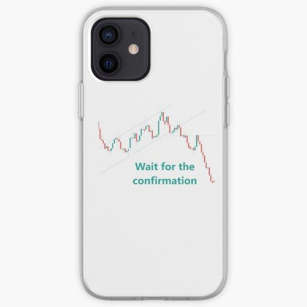 Negociación - Espere confirmación Funda blanda para iPhone
