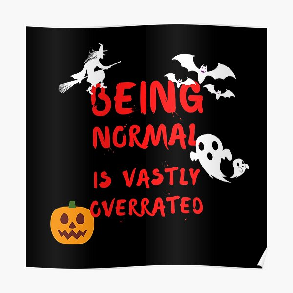 Being Normal is Vastly Overrated | Halloweentown Poster