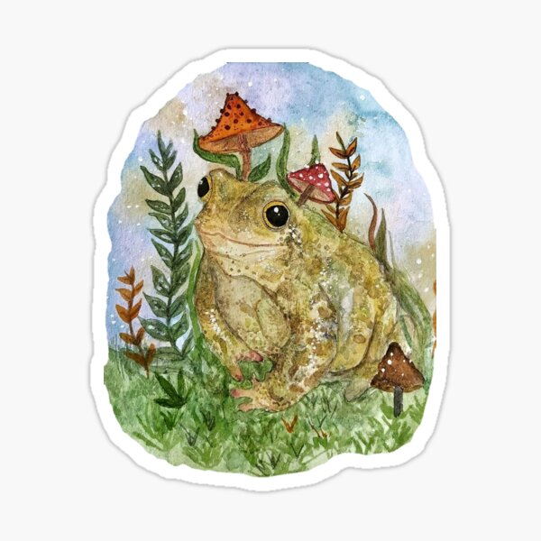 Forest toad Sticker