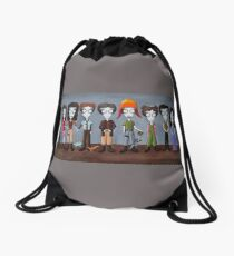 Firefly Characters, spookified. Drawstring Bag