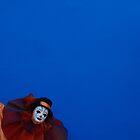 Blue clown by woolcos