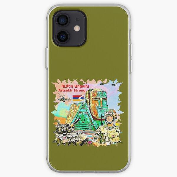 Artsakh Strong   Ուժեղ Արցախ iPhone Soft Case