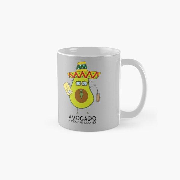 Avocado - A mexican lawyer Classic Mug