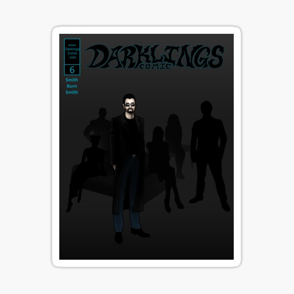 Darklings Issue 6 cover Sticker
