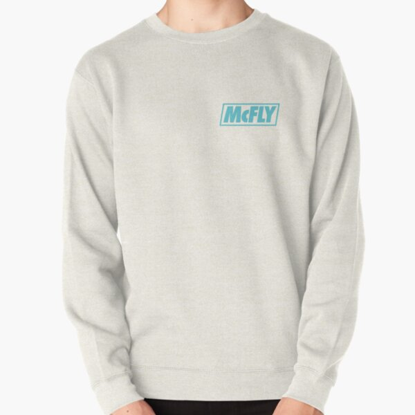 mcfly new logo 2020 in teal young dumb thrills 2 Pullover Sweatshirt