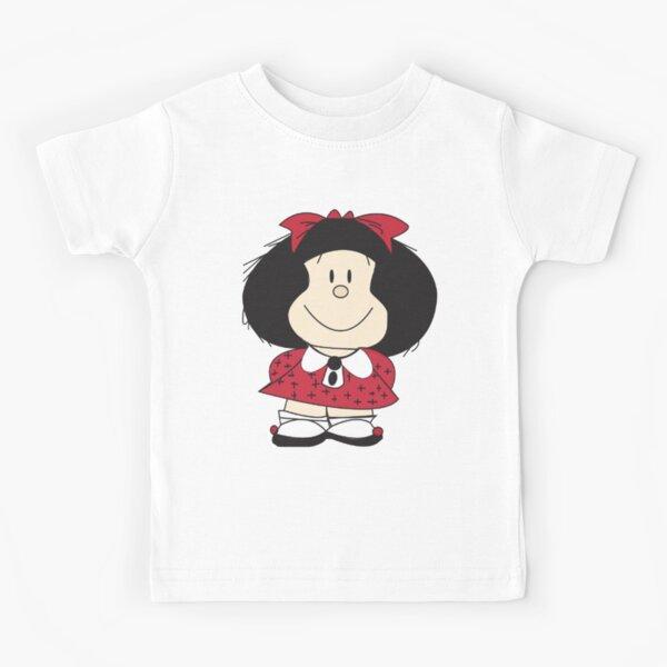 Mafalda Quino Comics - malfada x Camiseta para niños