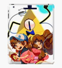 Dipper Mabel and Bill Cipher iPad Case/Skin