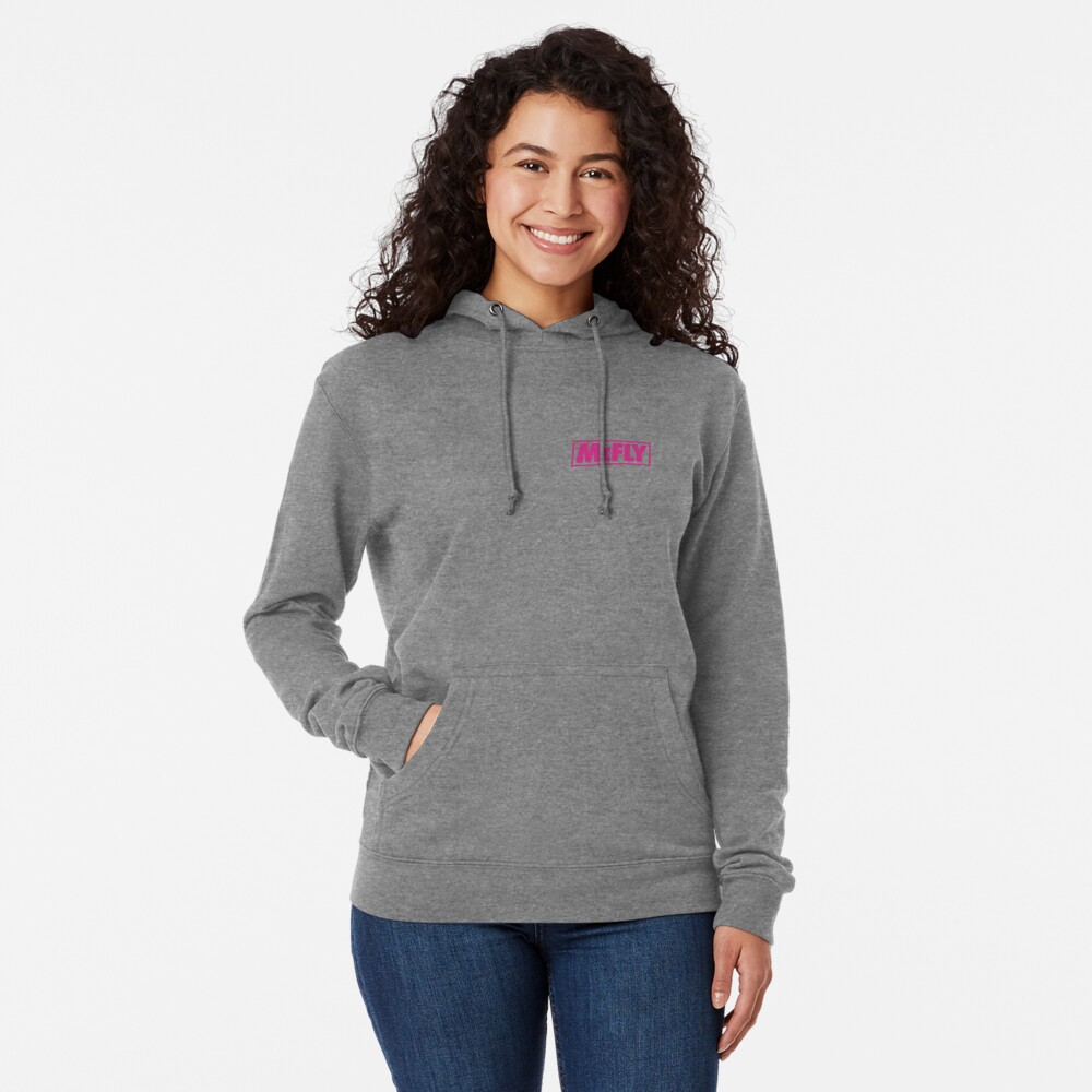 mcfly new logo 2020 in pink young dumb thrills  Lightweight Hoodie