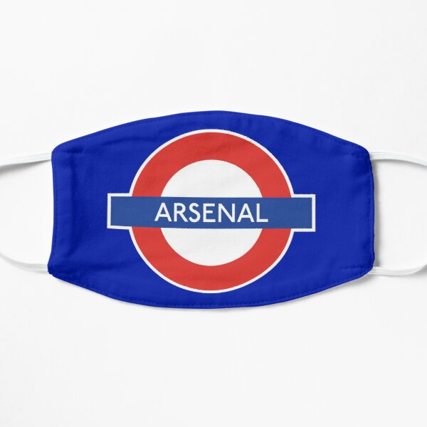 Inspired by Arsenal London Underground Station Sign  Mask