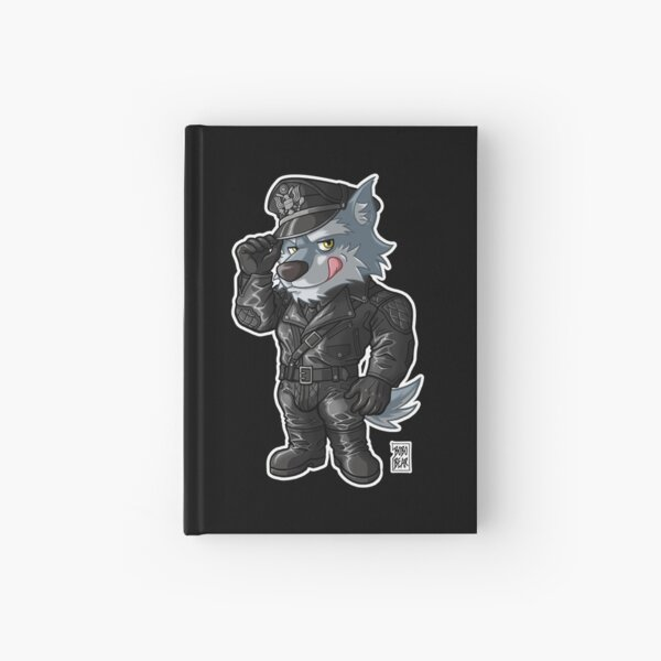 LEATHER WOLF - BEARZOO SERIES Hardcover Journal