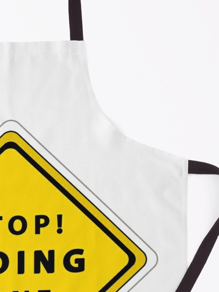 Alternate view of Stop! Coding zone Apron