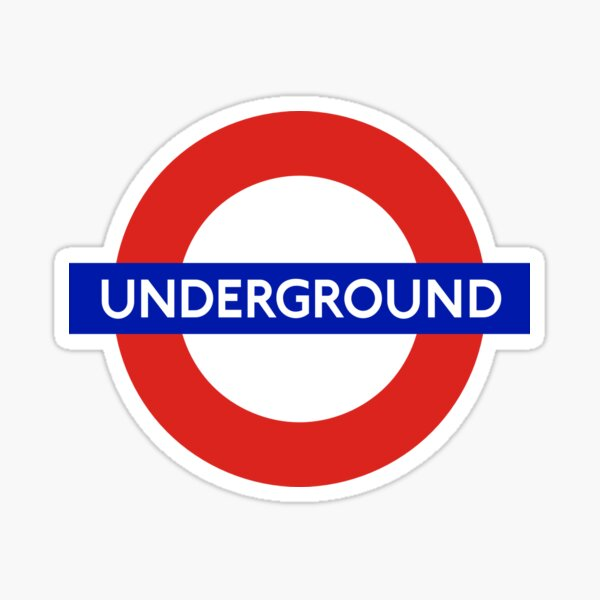 London Underground Logo Sticker