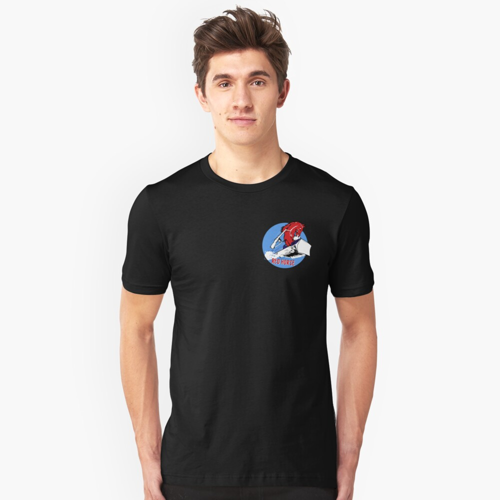 Expeditionary Red Horse Group Slim Fit T-Shirt