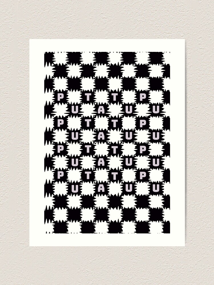 Alternate view of TAPU tatupu, whore Art Print