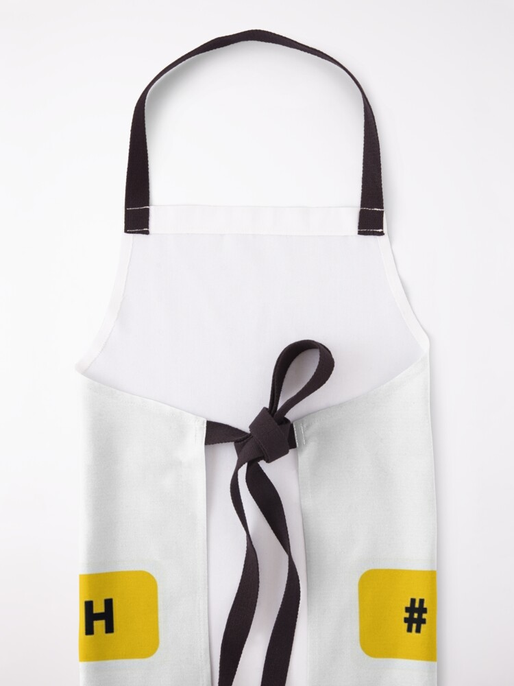 Alternate view of Girl in tech Apron