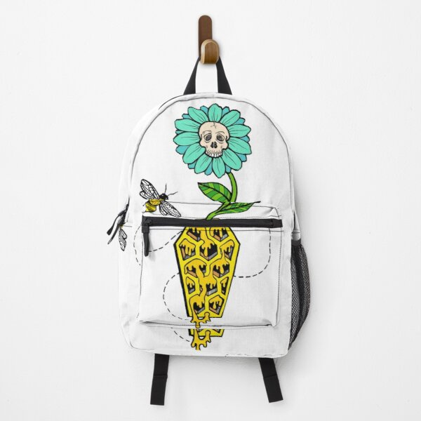 Honeycomb Coffin - colored version Backpack