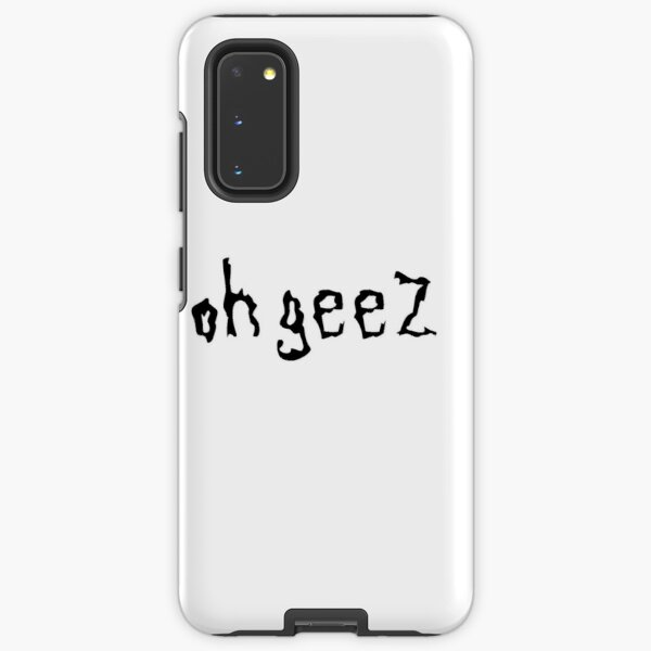 Rick And Morty Oh Geez Fan Art Samsung Galaxy Tough Case