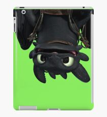 Upside Down Toothless iPad Case/Skin